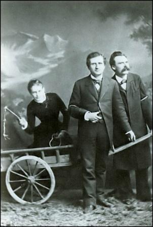Friedrich Nietzsche, Paul Ree y Lou Andreas-Salomé