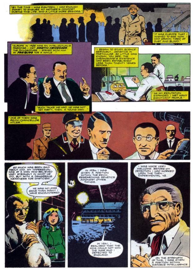 Heidegger y Hitler en Marvelman