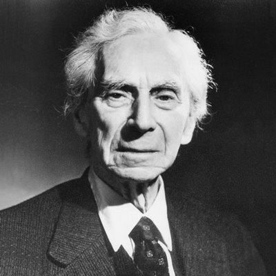 Bertrand Russell, en sus últimos, mas no menos geniales, años.