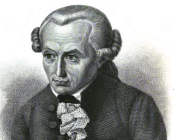 Immanuel Kant, antropólogo.