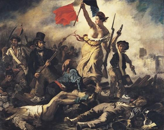 Marianne simbolo de la Libertad